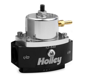 Holley HP Billet EFI Fuel Pressure Regulator 12-846 (15-65 psi)