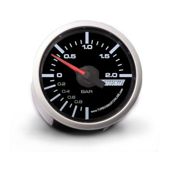 Turbosmart 52mm 0-2 Bar Manual Boost Gauge