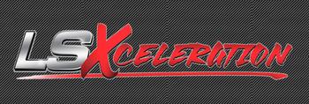 LSXceleration 2' x 6' Carbon Fiber Background Banner