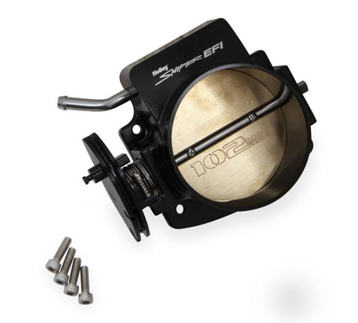 Sniper LS 102mm Throttle Body 860005 - Black Finish