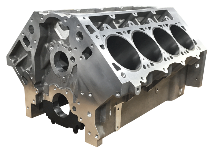 "DART LS Next Gen III Aluminum Engine Block 31947121 - 9.450"" Deck, 4.000"" Bore, Fully Skirted"