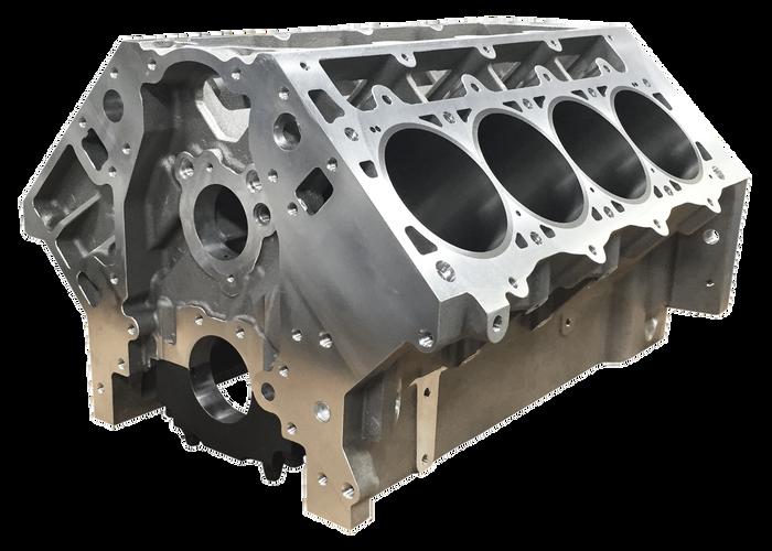 "DART LS Next Gen III Aluminum Engine Block 31947222 - Raised Cam, 9.450"" Deck, 4.125"" Bore, Fully Skirted"