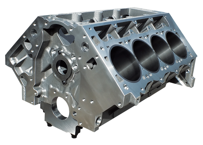 "DART LS Next Gen III Aluminum Engine Block 31937211 - 9.240"" Deck, 4.125"" Bore"