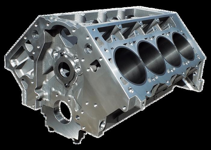"""DART LS Next Gen III Aluminum Engine Block 31937222 - Raised Cam, 9.450"""" Deck, 4.125"""" Bore"""