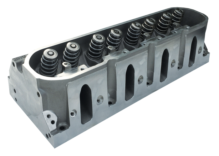 Dart Pro 1 LS Aluminum Cylinder Head 11010010 - 205cc Cathedral Port, Bare