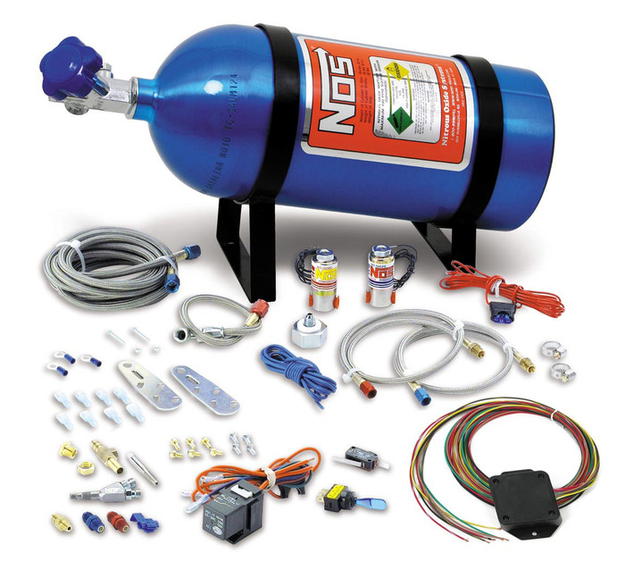 NOS Universal Wet Nitrous Kit 05135NOS - Drive By Wire, 8 Cyl