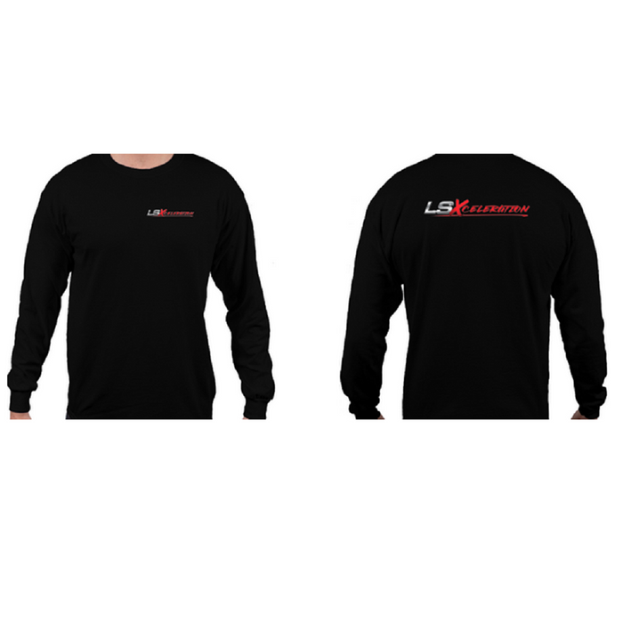 LSXceleration Long Sleeve Black T-Shirt