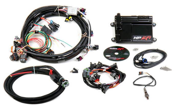Holley HP EFI GM LS 24x ECU & Harness Kit w/ NTK O2 550-602N