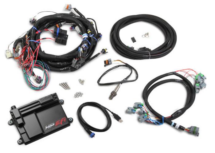 Holley HP EFI GM LS 58x ECU & Harness Kit w/ Bosch O2 550-603