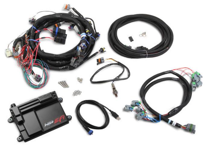 Holley HP EFI GM LS 58x ECU & Harness Kit w/ NTK O2 550-603N