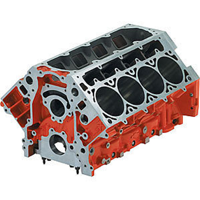 "Chevrolet Performance LSX 9.240"" Deck Iron Bare Block 19260099 - 4.185"" Bore"