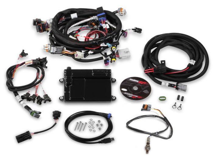 Holley HP EFI GM LS 58x ECU & Harness Kit w/ NTK O2 550-607N