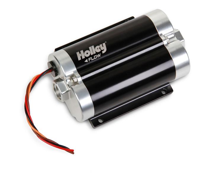 Holley Dominator 130 GPH Inline Billet Fuel Pump 12-1200