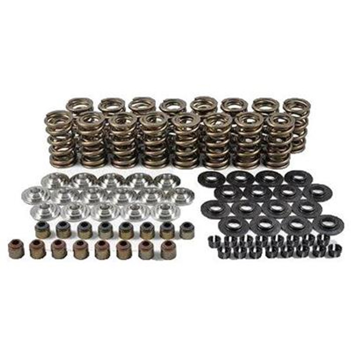 "PAC-KS24 RPM SERIES DUAL SPRING KIT - 1.304"" O.D. x 0.700 MAX LIFT - STEEL RETAINERS - 7 Degree"