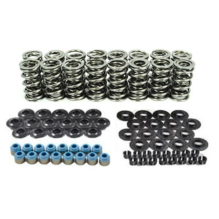 "80540K2 XceleRate Series Dual Valve Spring Kit - 1.300"" O.D. x 0.675"" Max Lift - Steel Retainers - 7 Degree"