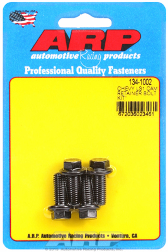 ARP 8740 GM LS Cam Retainer Plate Bolts 134-1002