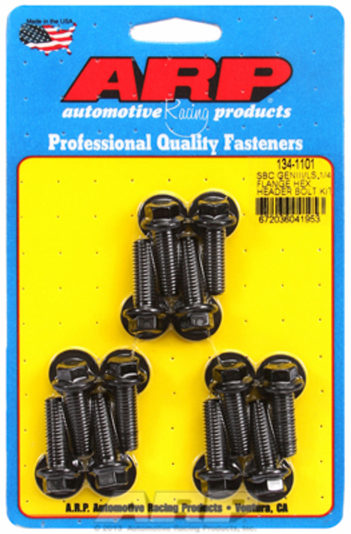 "ARP GM LS Hex Bolt Kit for 1/4"" Wide Flange Headers 134-1101"