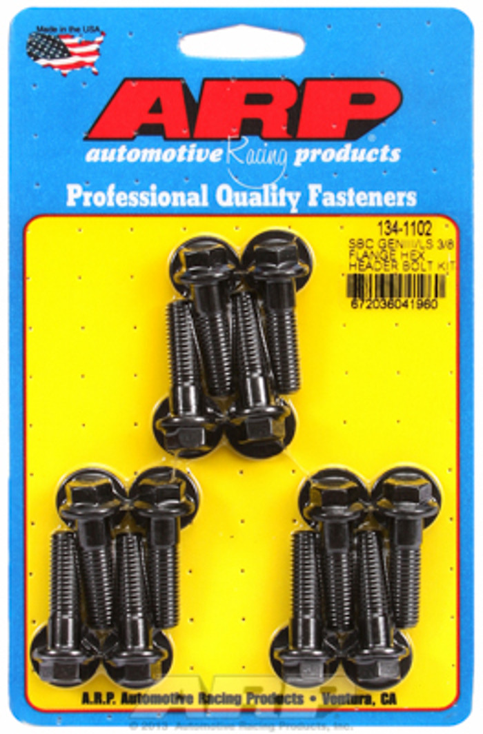 "ARP GM LS Hex Bolt Kit for 3/8"" Wide Flange Headers 134-1102"