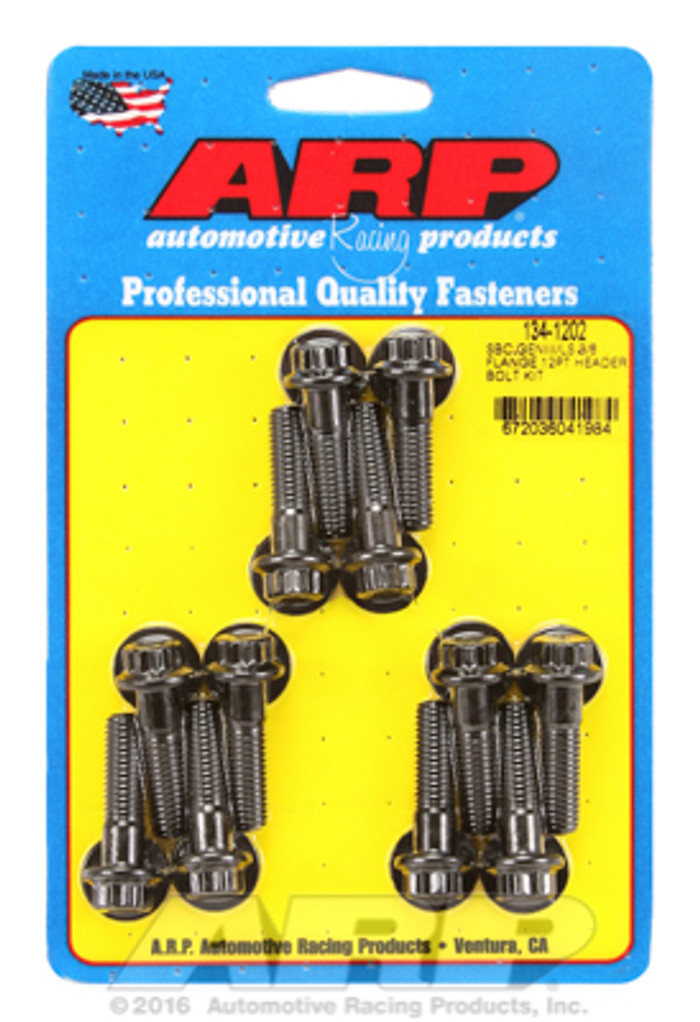 "ARP GM LS 12-Point Bolt Kit for 3/8"" Wide Flange Headers 134-1202"