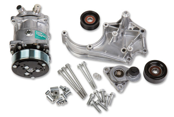 Holley LS Passenger's Side SD508 A/C Accessory Drive Kit 20-141