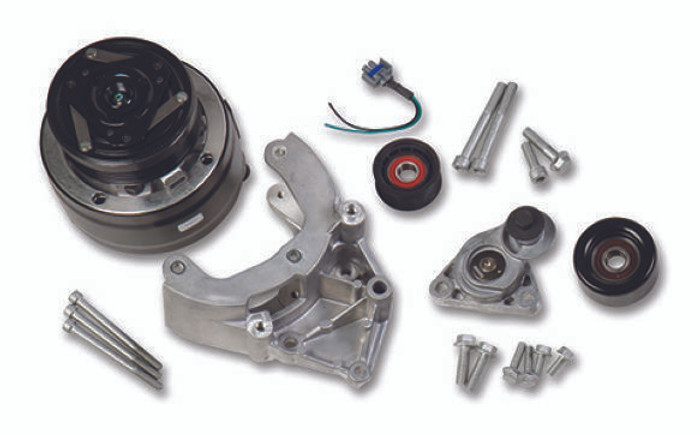 Holley LS Passenger's Side R4 A/C Accessory Drive Kit 20-140