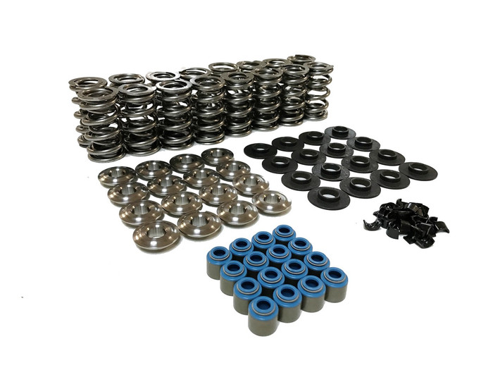 "80540K1TI XceleRate Series Dual Valve Spring Kit - 1.300"" O.D. x 0.675"" Max Lift - Titaniuml Retainers - 7 Degree"