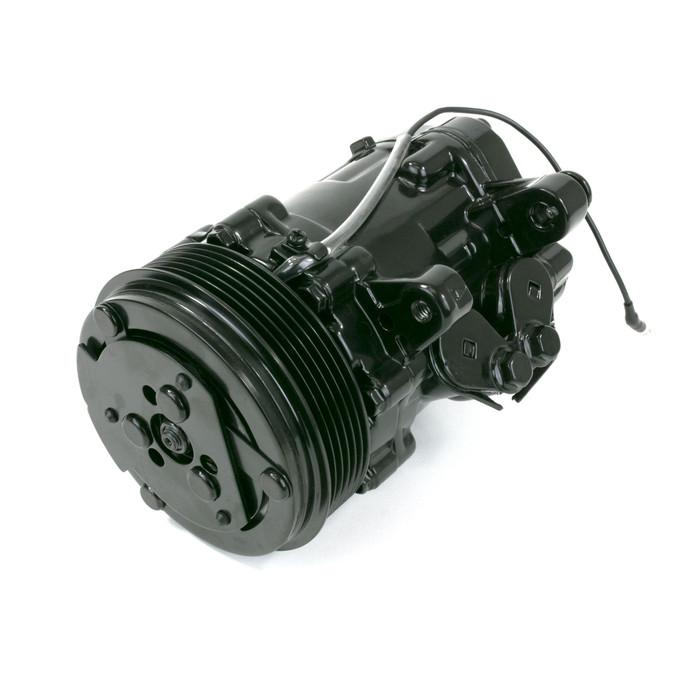 Sanden SD-7 Style Black A/C Compressor