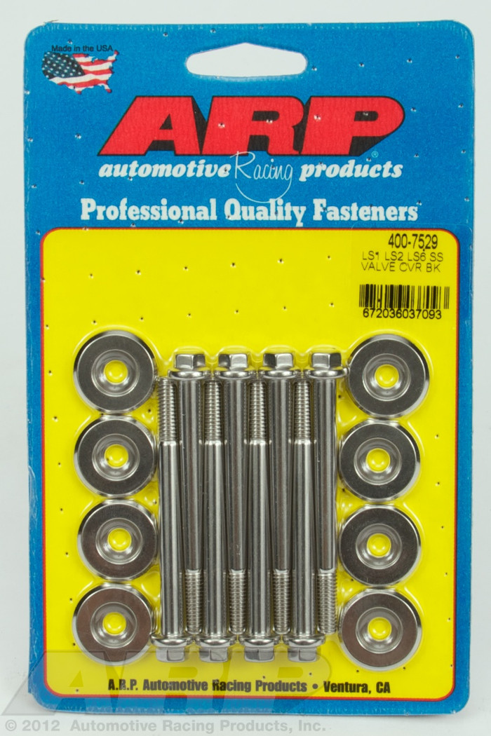 ARP GM LS Valve Cover Stainless Hex Bolts 400-7529