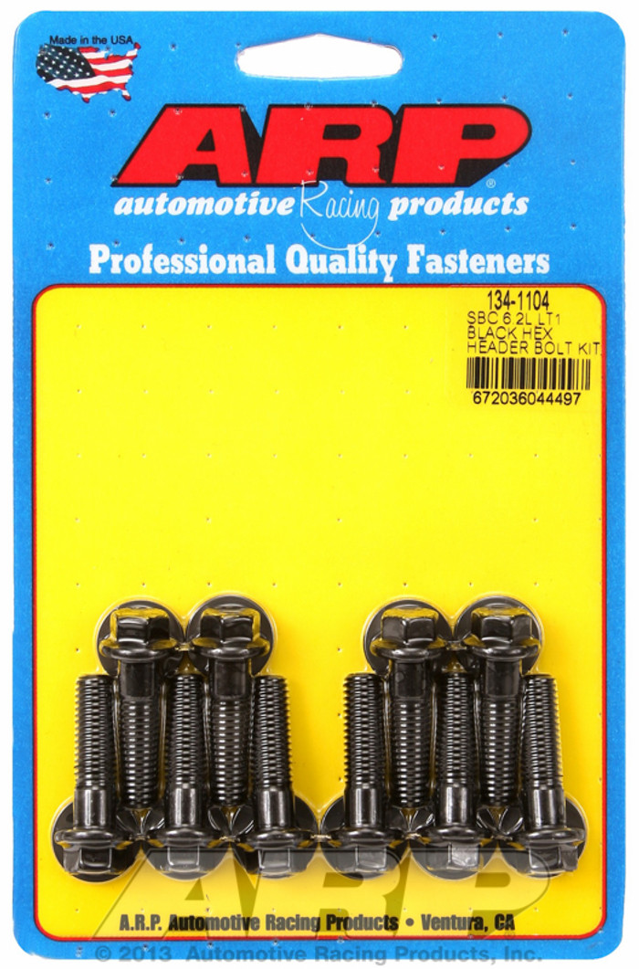 ARP Gen V LT1/LT4 Headers Hex Bolts 134-1104