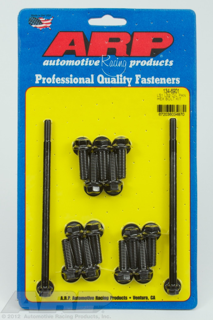 ARP GM LS Oil Pan Hex Bolts 134-6901