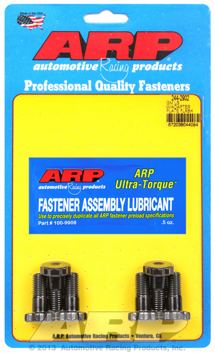 ARP GM LS Flexplate w/ 700R4/TH350/TH400 Adapter Plate Bolts 244-2902