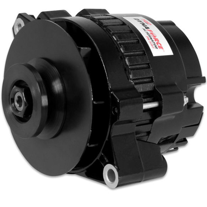MSD Dynaforce Alternator 5361 - Black, 160 Amp