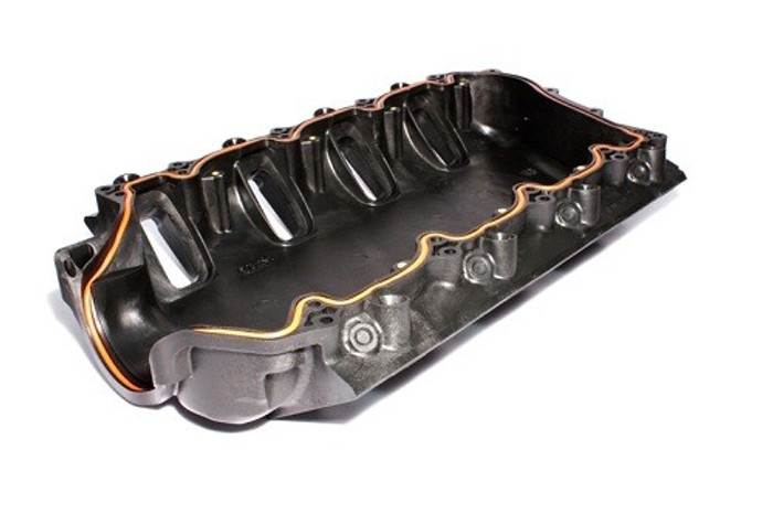 FAST LSXR 102MM LS3 Lower Shell For Intake Manifold, Black