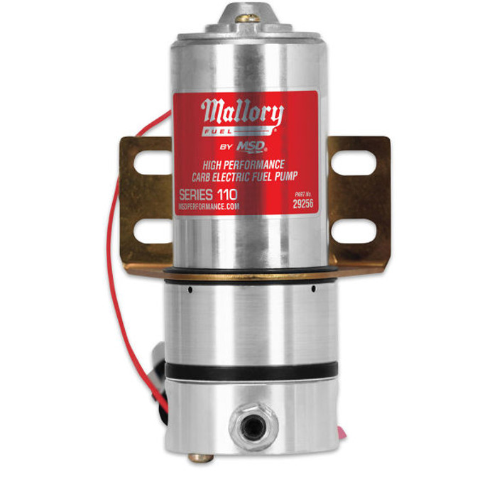Mallory Carb Electric Fuel Pump 29256 - Series 110