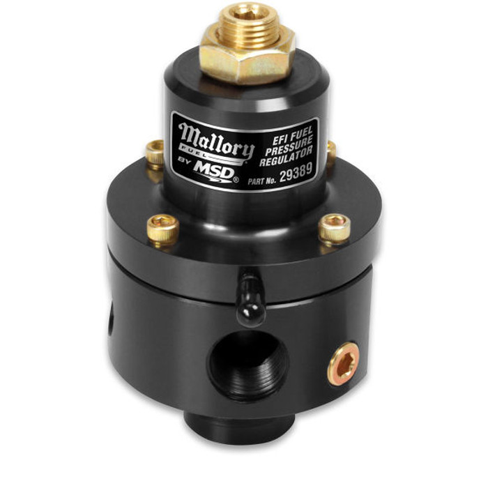 Mallory EFI Adjustable Fuel Pressure Regulator - 30-100 psi, 29389