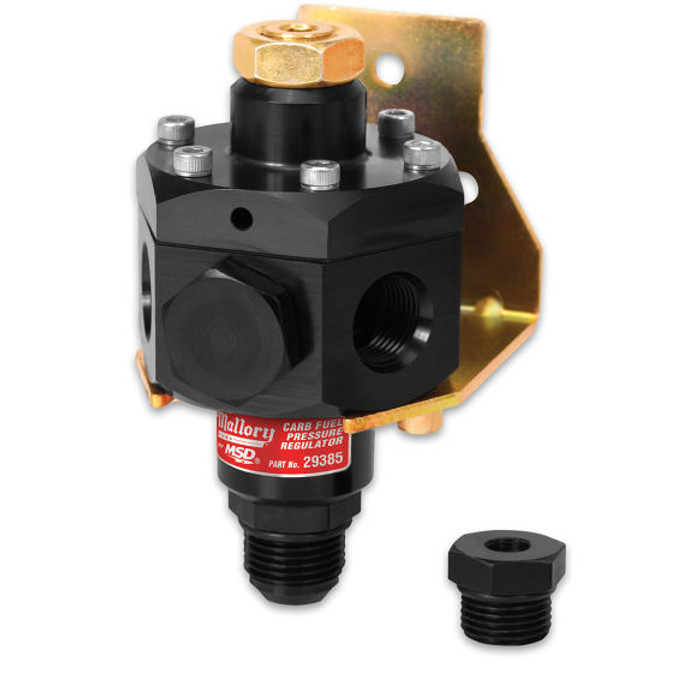 Mallory 4-Port Fuel Pressure Regulator 29385