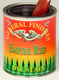 Water Based Dye Stain - Empire Red