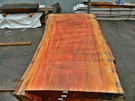 "Red Eucalyptus Slab GWS-803 3¼""x40""-47""x83"""