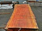 """Red Eucalyptus Slab GWS-803 3¼""""x40""""-47""""x83"""""""
