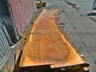 "Blonde Eucalyptus Slab GWS-814 3¼""x27""-33""x120"""