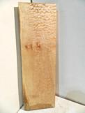 Quilted Maple Billet U 2 x 8 x 24¾