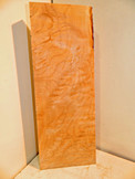 Quilted Maple Billet V 2 x 7 x 21