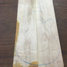 "Fiddleback Maple 7.5""x24""x2"""