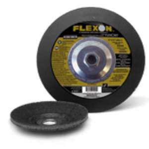 "FLEXON by Flexovit A8254 9""x1/4""x7/8"" ZA16U  -  FOUNDRY SNAG Depressed Center Grinding Wheel"
