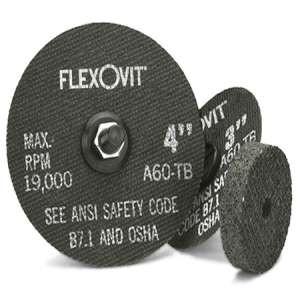 "HIGH PERFORMANCE by Flexovit F0349 3""x3/16""x3/8"" A36R  -  FAST CUT, GRIND Reinforced Die Grinder Combination Wheel"