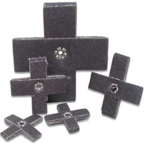 "HIGH PERFORMANCE by Flexovit 45855 2""x2""x1/2"" A120 Cross Pad"