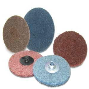 """HIGH PERFORMANCE by Flexovit H0353C 3"""" SPIN-ON COARSE BROWN Surface Conditioning Disc"""
