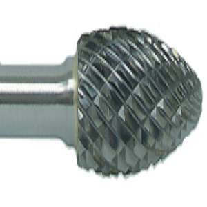 "HIGH PERFORMANCE by Flexovit VH15M2 1/4""x5/8""x1/4"" SHANK FLAME DOUBLE CUT Carbide Bur"