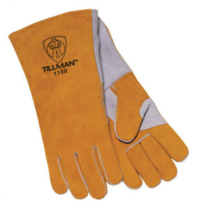 Tillman 1150 Premium Side Split Lined Cowhide Welding Gloves
