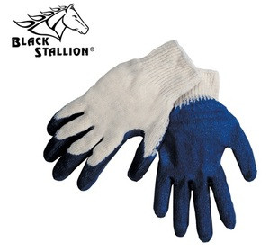 Revco Black Stallion 2300EE Latex Coated Cotton Knit Gloves, Large